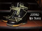 【アートな1足!!】2017AW Rick Owens( リックオウエンス ) Lace-Up Creeper Boots入荷!!!:画像1