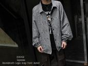 【20AW!!】Supreme(シュプリーム)Houndstooth Logos Snap Front Jacketが入荷!!!:画像1