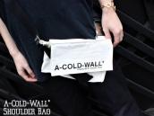 【パーツがポイント!】A-Cold-Wall*(ア・コールドウォール) 19SS ショルダーバッグが入荷しました!!!:画像1