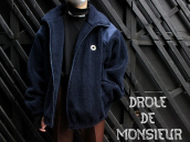 【フレンチ・ストリート!】DROLE DE MONSIEUR(ドロール ド ムッシュ)からボアジャケット入荷!!!:画像1