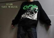【良いニット入りました。】2019AW OFF WHITE(オフホワイト)からニット入荷しました!!!:画像1