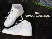 【切りっぱなしはお家芸!】COMME des GARCONS(コムデギャルソン)xNIKE(ナイキ)のコラボアイテム入荷!!!:画像1
