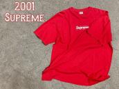 【20年前!!】2001 Supreme(シュプリーム)からBOX LOGO TEE買取入荷!!!:画像1