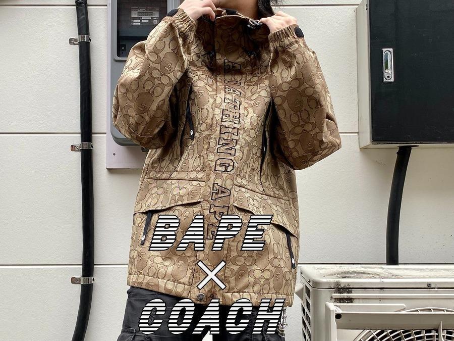 【ビックコラボ!!!】BAPE(ベイプ)×COACH(コーチ)入荷しております!!!:画像1