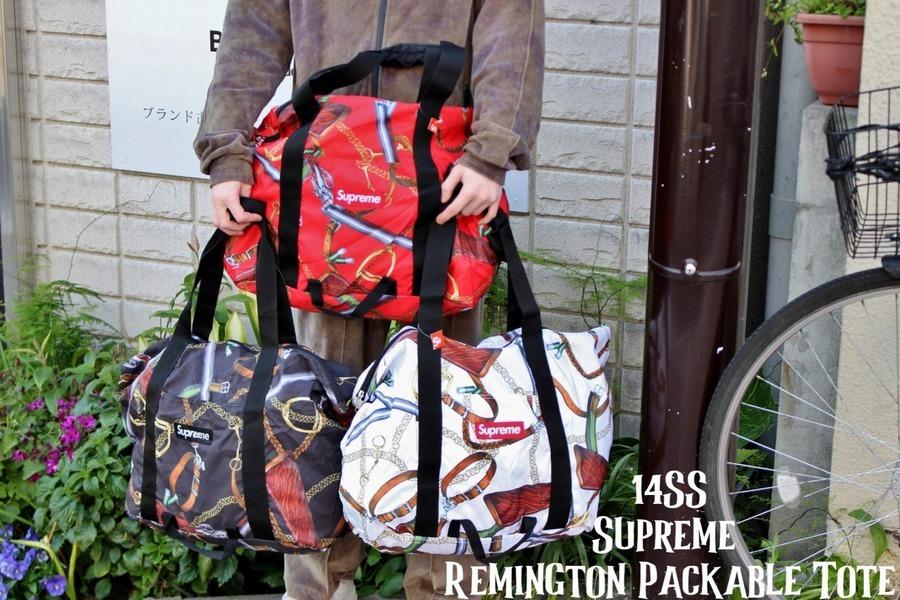 3色揃ってます!!!Supreme Remington Packable Tote買取致しました!!!