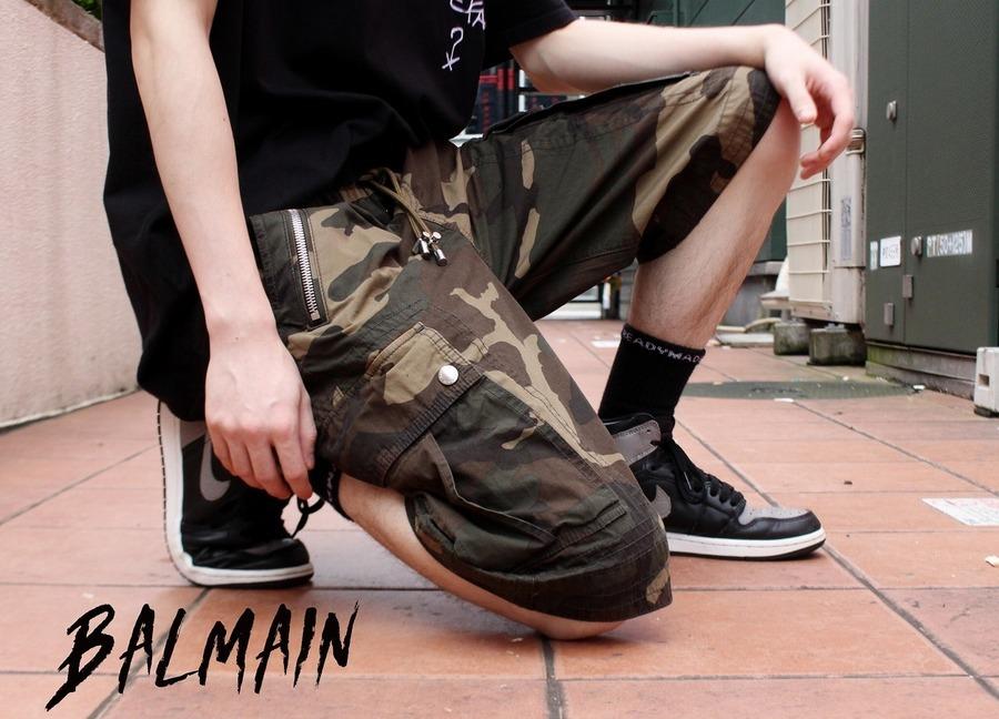 【避暑地パンツ!!】BALMAIN(バルマン)から BERMUDA HALF PANTS買取致しました!!!