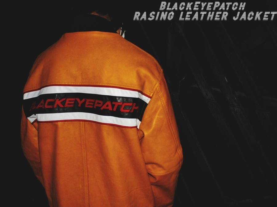 【黒眼帯!!!】BlackEyePatch(ブラックアイパッチ)からRASING LEATHER JACKET入荷!!