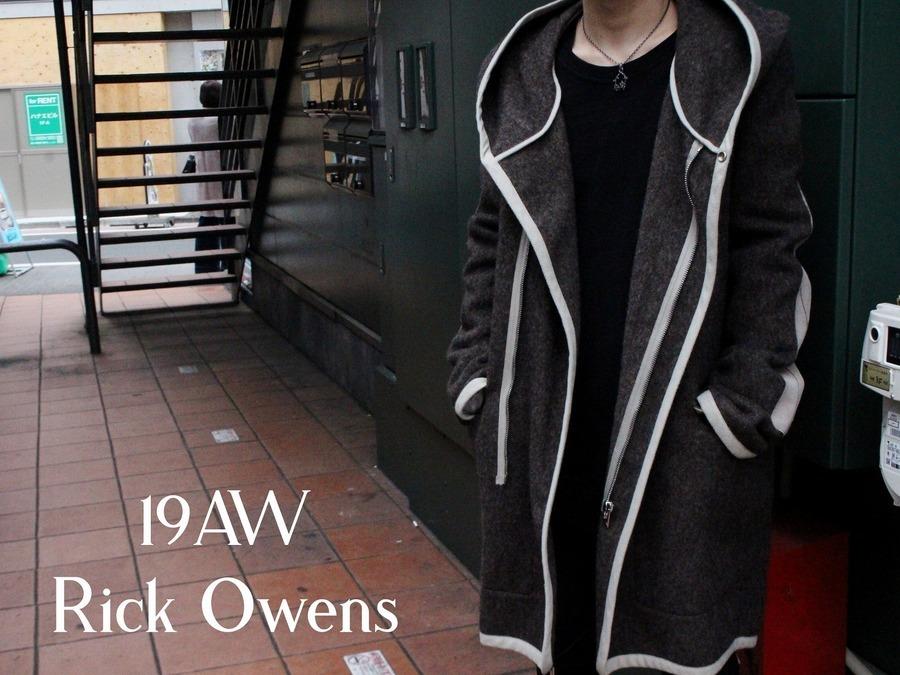 【スラブって!?】19AW Rick Owens(リックオウエンス)からSlab Coat入荷!!!