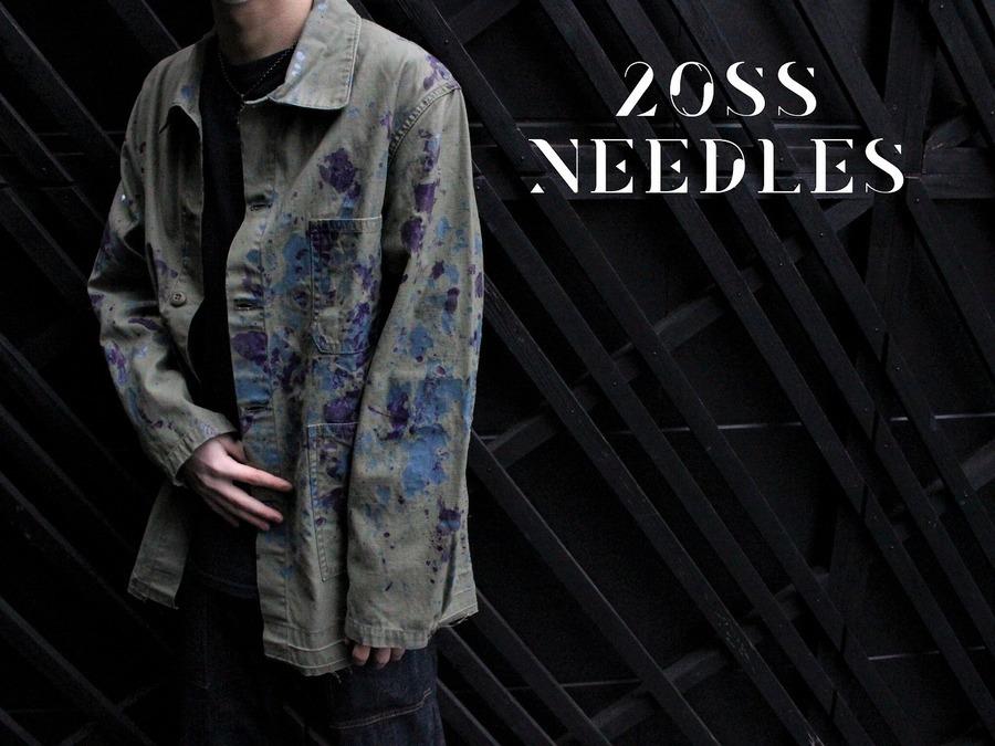 【ペイント加工が決めて!!】20SS Needles(ニードルス)からD.N. Coverall入荷!!!