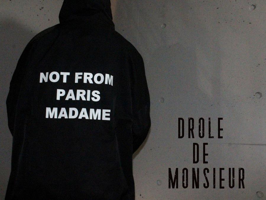 【フレンチ・ストリート!】DROLE DE MONSIEUR(ドロール ド ムッシュ)からレインコート入荷!!!