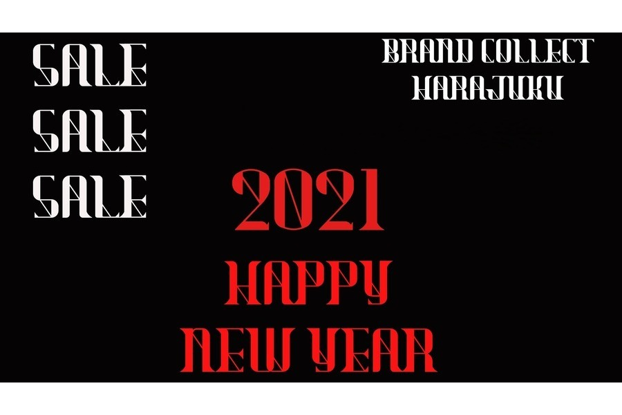 【2021!!!】New Year Sale開催中です!!