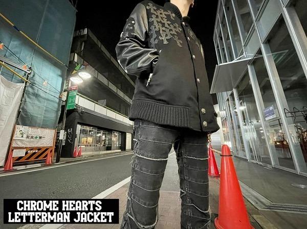【アパレルラインの最高峰!】CHROME HEARTS(クロムハーツ)からLetterman Jacket入荷!!!