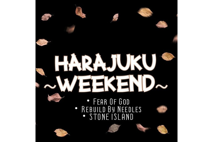 【~HARAJUKU WEEKEND~】週末のおすすめアイテムご紹介致します!!