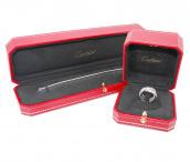 Cartier(カルティエ)トリニティリングとダイヤモンドブレスレットをお買取りさせていただきました。【ブランドコレクト表参道店】:画像1