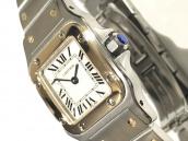 【お試し査定の買取第?弾】Cartier(カルティエ)サントスガルベをお売りいただきました。お試し査定イベント開催!:画像1