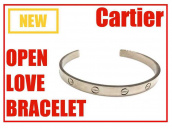 Cartier(カルティエ)オープンラブブレスレットを高価買取させていただきました。【ブランドコレクト表参道店】:画像1
