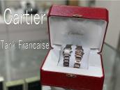 Cartier(カルティエ) の女性人気時計タンクフランセーズのご紹介です。【ブランドコレクト表参道店】:画像1