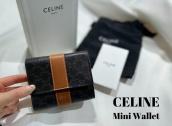【ミニウォレット高価買取】CELIN/セリーヌから3つ折り財布のご紹介!:画像1