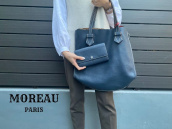 【新入荷情報】MOREAU PARIS(モロー・パリ)よりリバーシブルトートバッグのご紹介です。:画像1