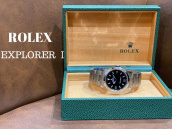 【高額買取】買取価格上昇中のROLEX/ロレックスエクスプローラーⅠの紹介:画像1