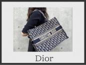 【新入荷情報】Christian Dior/クリスチャン ディオールのブックトート入荷!:画像1