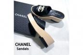 【買取入荷情報】今履きたいCHANEL/シャネルサンダルをお売りいただきました。:画像1