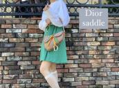 【買取入荷情報】Christian Dior/クリスチャン・ディオールサドルバッグのラスタカラーをお売り頂きました。:画像1