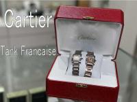 Cartier(カルティエ) の女性人気時計タンクフランセーズのご紹介です。【ブランドコレクト表参道店】
