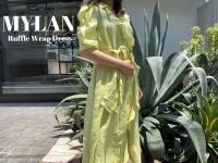 【買取強化ブランド】MYLAN/マイランのラッフルラップドレスをお売りいただきました。