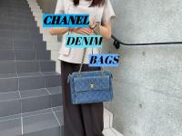 【買取入荷情報】CHANEL/シャネルのデニムチェーンバッグ2点をお買取させて頂きました。