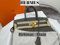 【買取キャンペーン】HERMES/エルメス人気色『エタン』のバーキン買取入荷。お買取りならお任せください。