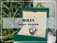 【高価買取】世代を越えて愛される色褪せることのない名作、ROLEX/ロレックスのデイトジャスト/126300が買取入荷致しました。