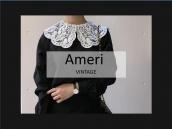 【スタッフおすすめ】Ameri vintage/アメリヴィンテージから刺繍レースの衿がついたデザインブラウスのご紹介:画像1