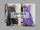 【スタッフおすすめ】ENFOLD/エンフォルドからバルーンスカート2色のご紹介:画像1