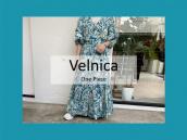 【高価買取/おすすめ商品】Velnica (ヴェルニカ) カシュクール型マキシワンピースのご紹介です。:画像1
