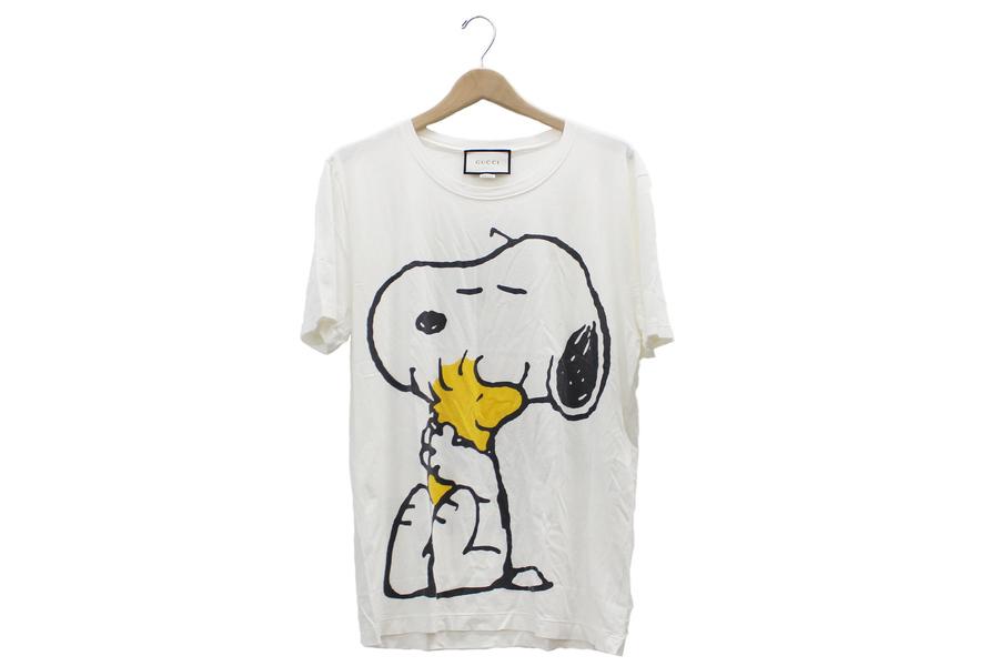 【買取実績】 GUCCI(グッチ) ×SNOOPY ダメージ加工Tシャツ 440103-X3E56_:画像1