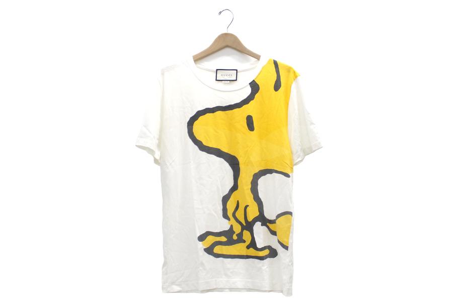 【買取実績】 GUCCI(グッチ) ×SNOOPY ダメージ加工Tシャツ 440103-X3E57_:画像1