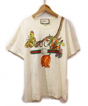 フローラルTシャツ