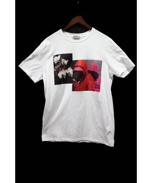 first rate df947 cd7dd Dior Homme (ディオールオム) 18SS Francois Bard TEE/Tシャツ ホワイト サイズ:M