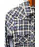 CHROME HEARTS(クロムハーツ)の古着「スターボタンチェックシャツ」|ブルー