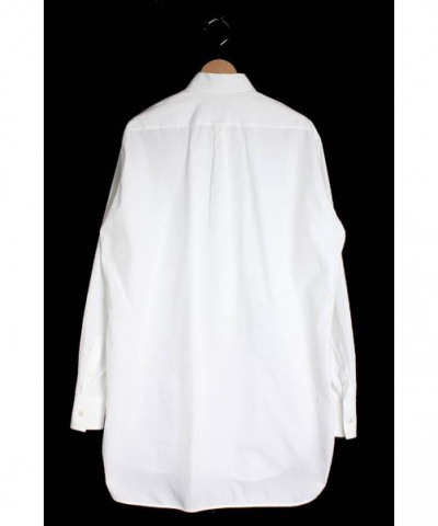 70a213771e145 CELINE (セリーヌ) タキシードロング丈シャツ ホワイト サイズ 36 ...