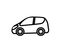 社用車に社名・ロゴなし!